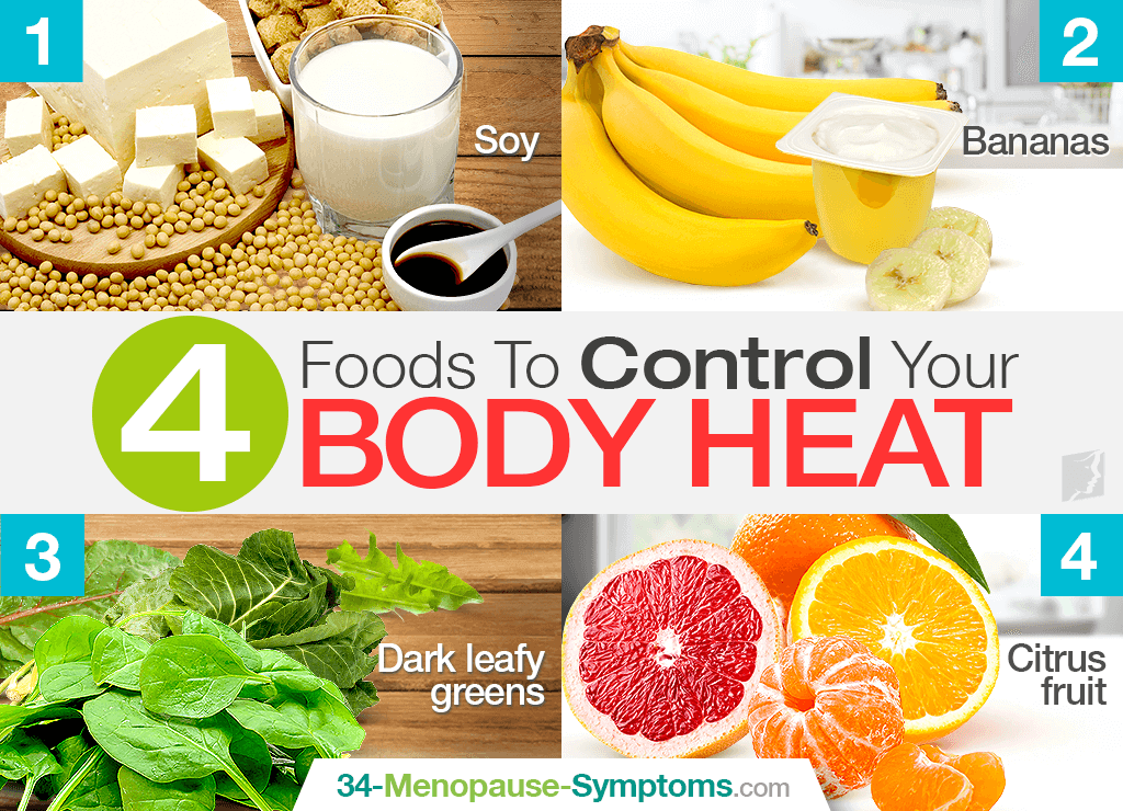 4 Foods to Control Your Body Heat