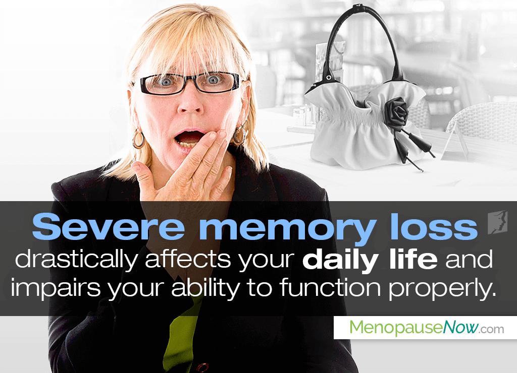 Severe memory loss