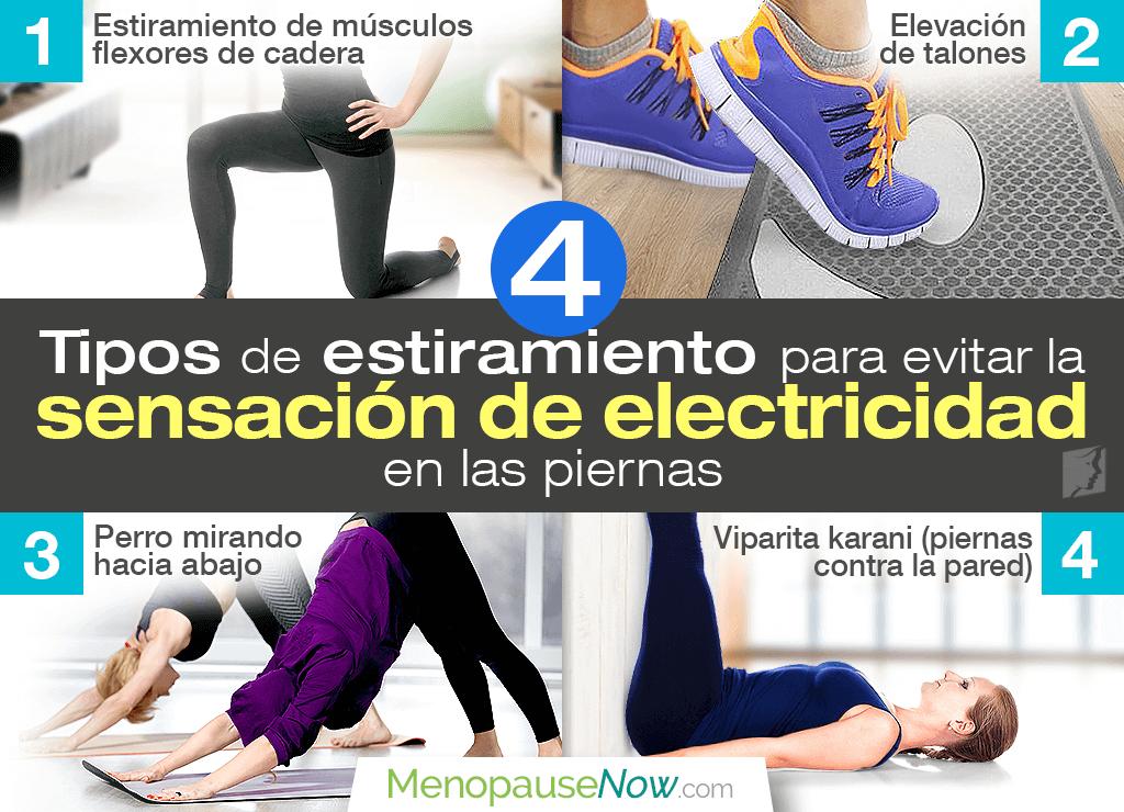 4 estiramientos para evitar la sensación de electricidad en las piernas