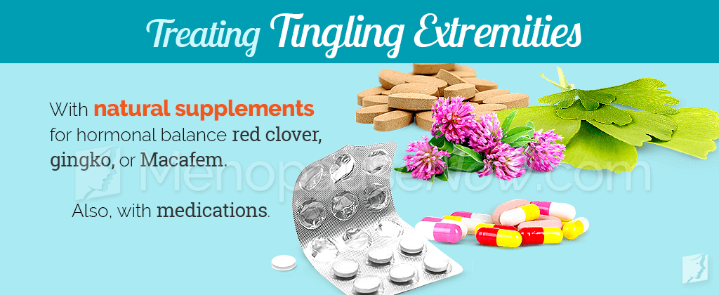 Treating tingling extremities