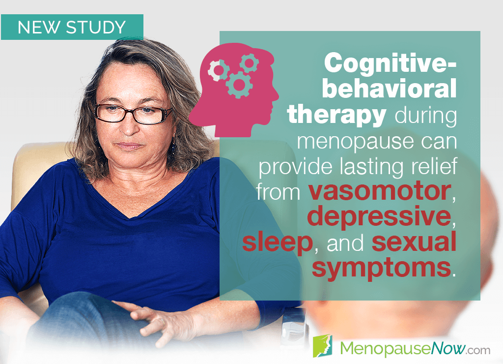 Study: Cognitive-behavioral therapy beneficial for menopause symptoms