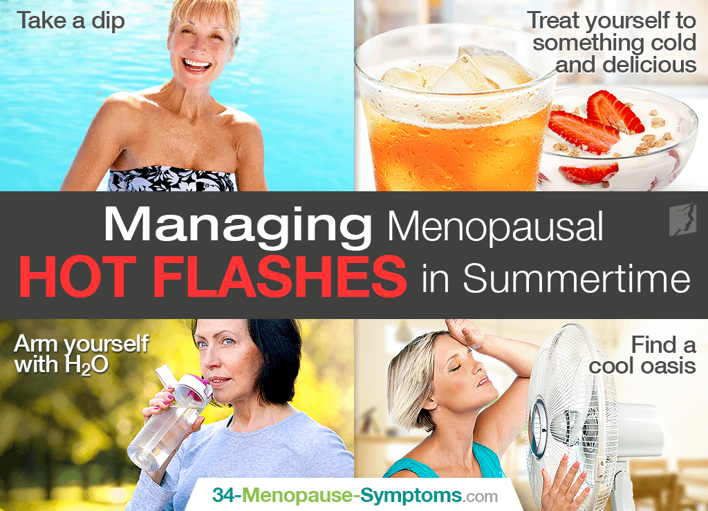 Beating the Heat: Managing Menopausal Hot Flashes in Summertime
