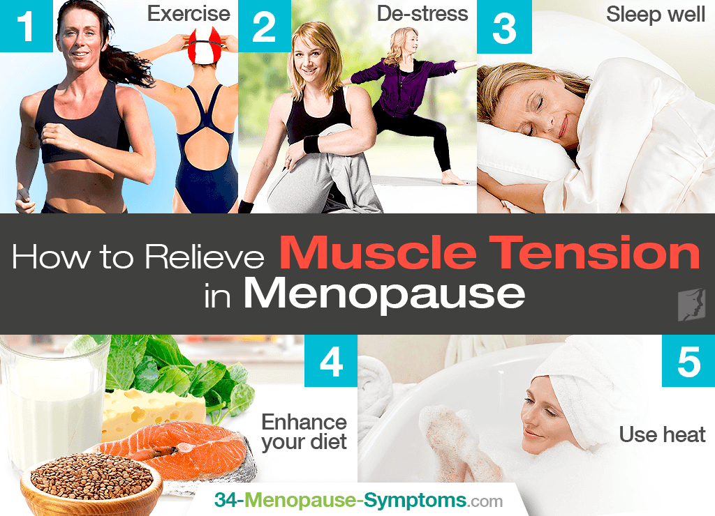 how to relieve muscle tension during menopause