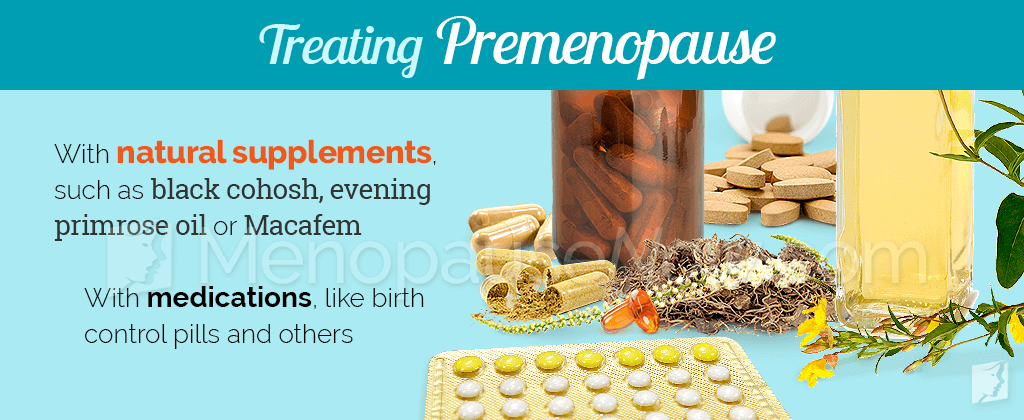 Treating premenopause