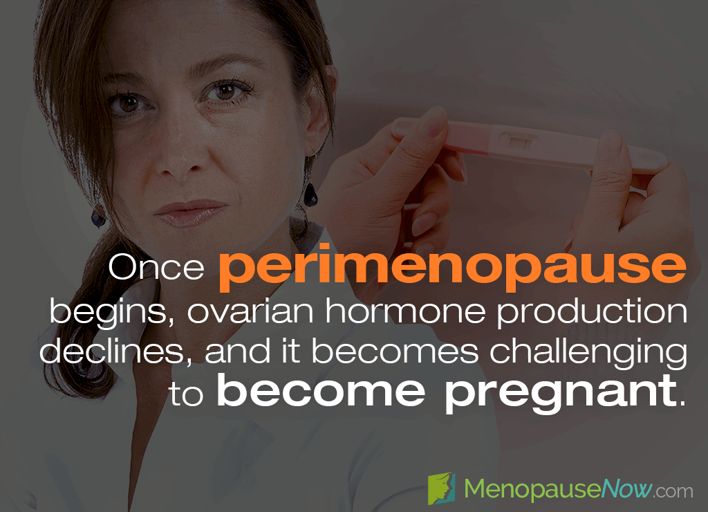 early menopause and fertility