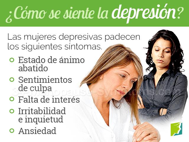 como se siente la depresión
