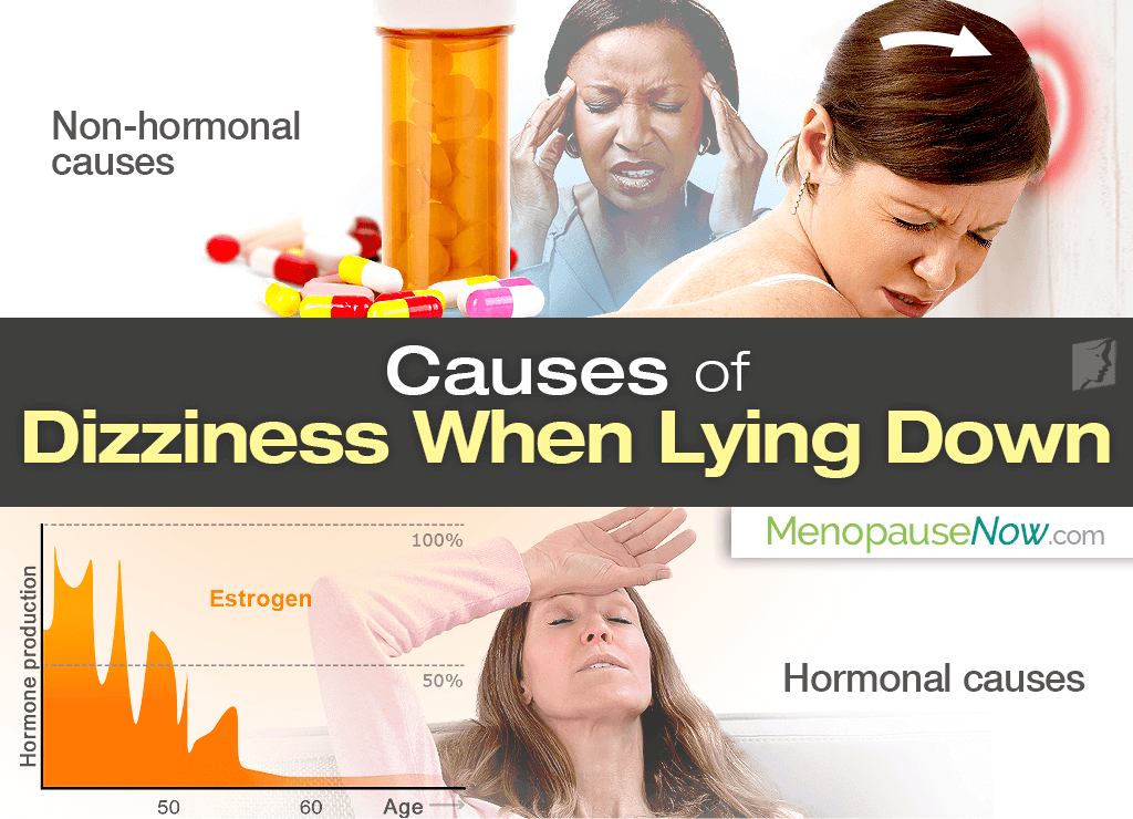 dizziness when lying down