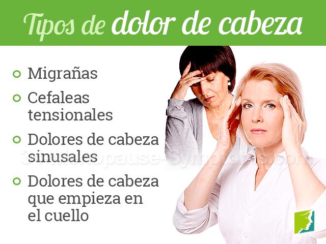 Tipos de dolor de cabeza