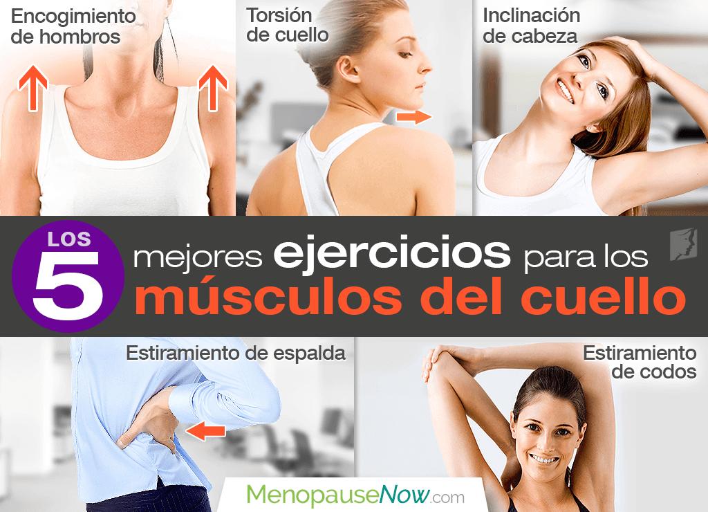 Los 5 mejores ejercicios para los músculos del cuello