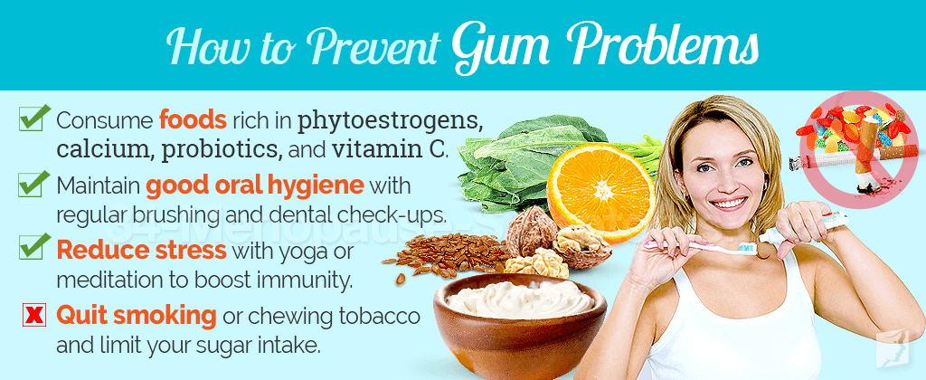 how to prevent gum problems