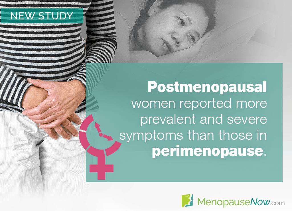 Study: A study examines symptom prevalence in peri - vs. postmenopause