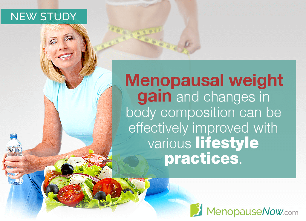 Study: Lifestyle changes help prevent menopausal weight gain