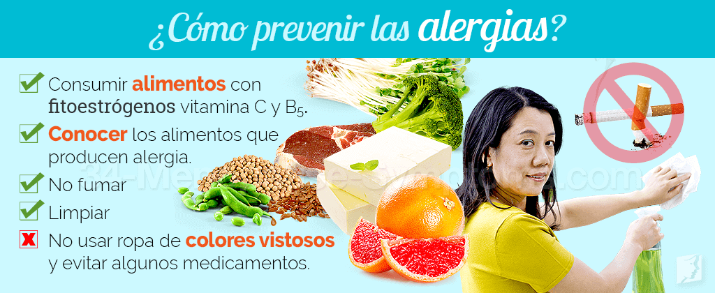¿Cómo prevenir las alergias?
