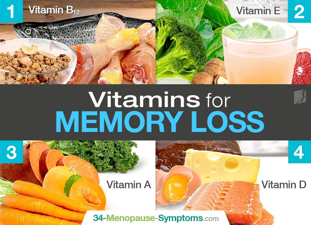 vitamins for memory loss