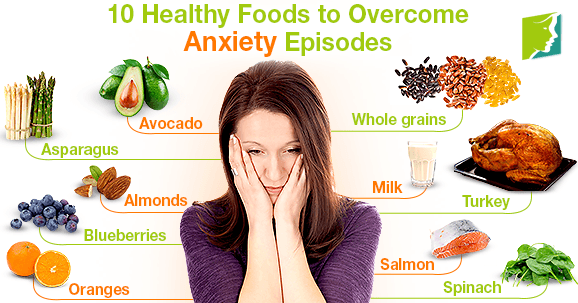 10 Healthy Foods to Overcome Anxiety Episodes