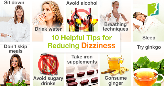 10 Helpful Tips for Reducing Dizziness