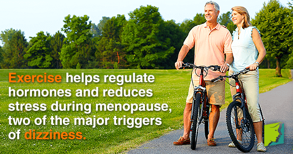 Exercise helps regulate hormones and reduces stress