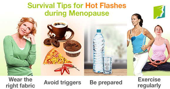 Survival Tips for Hot Flashes during Menopause
