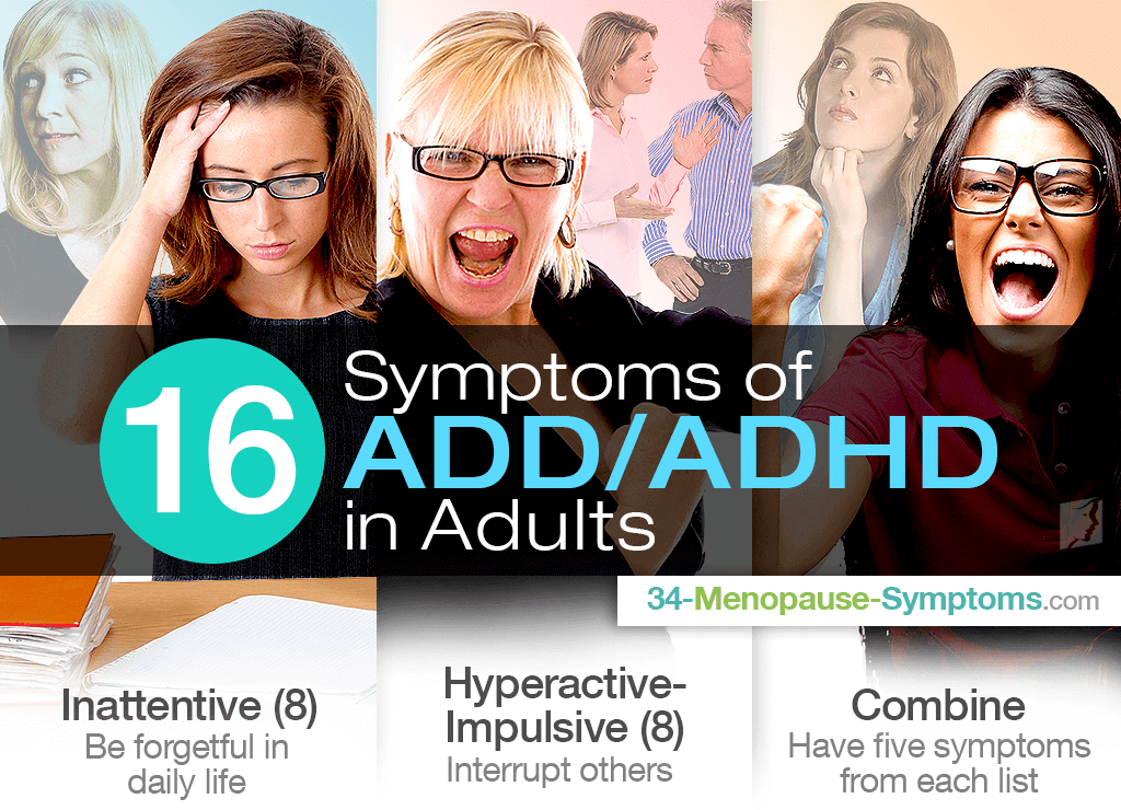 16 Symptoms of ADD ADHD in Adults