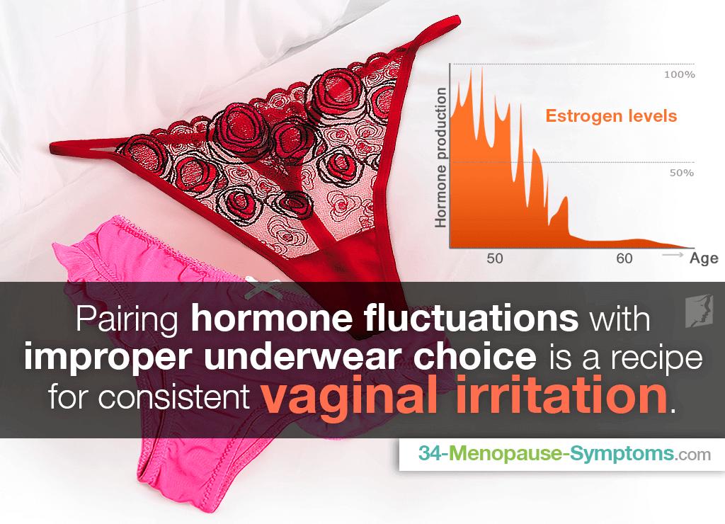 Underwear causing vaginal dryness