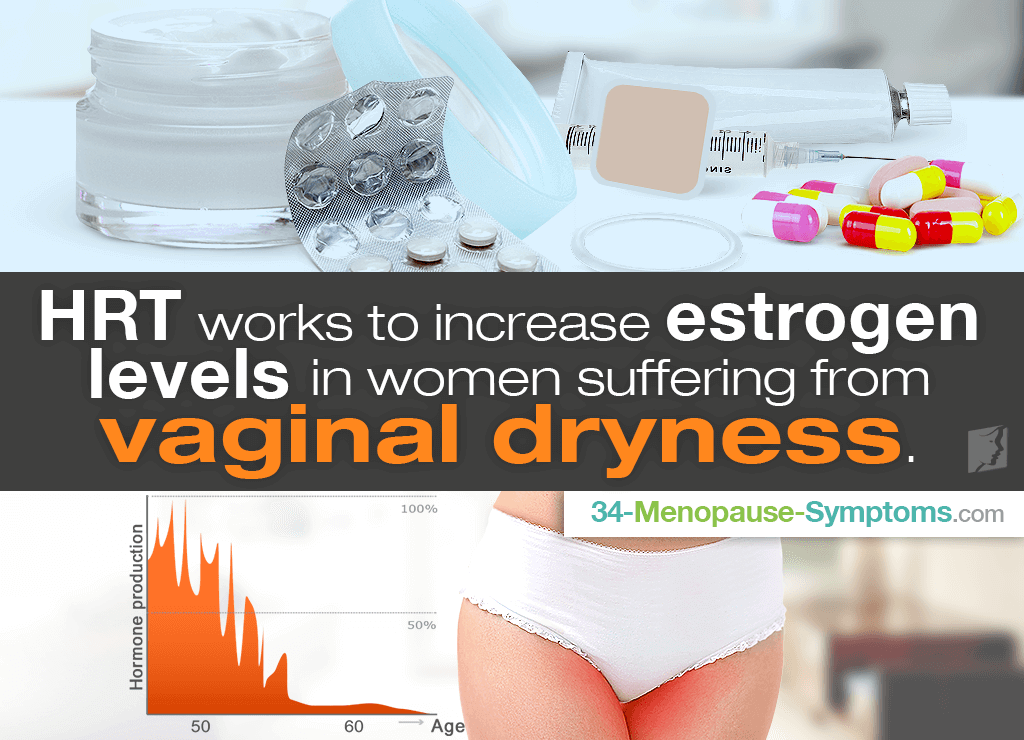 How Does HRT Help Vaginal Dryness?