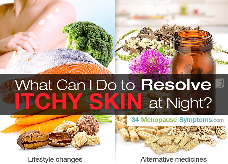 Itchy skin at night