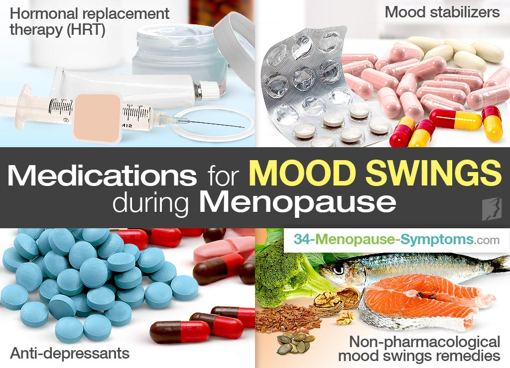 Medications for Mood Swings during Menopause