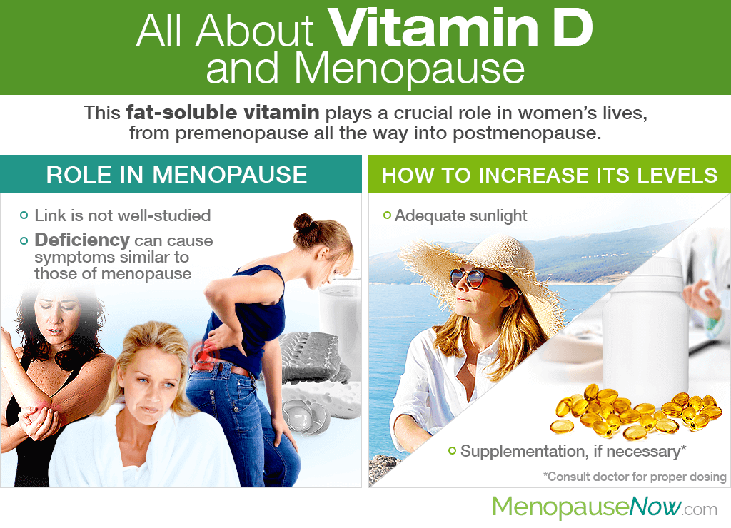 All About Vitamin D and Menopause