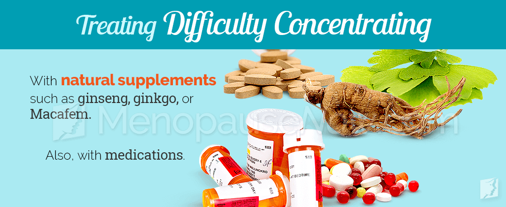 Treating difficulty concentrating