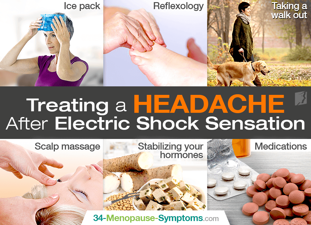 Treating a Headache After Electric Shock Sensation