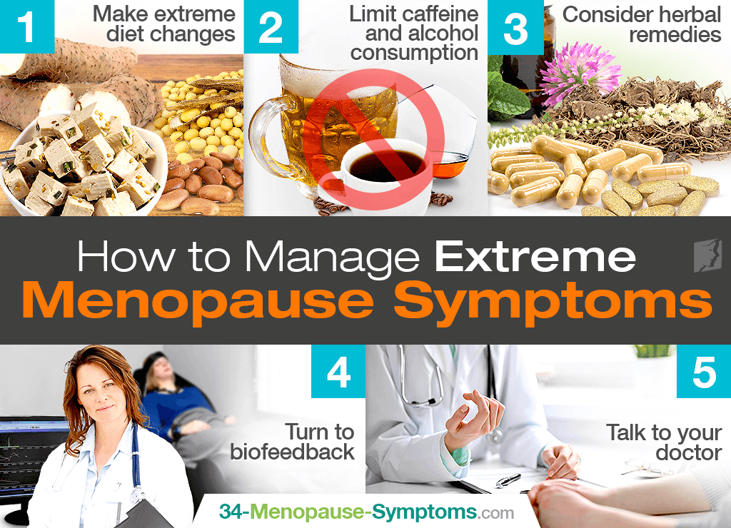 extreme menopause symptoms