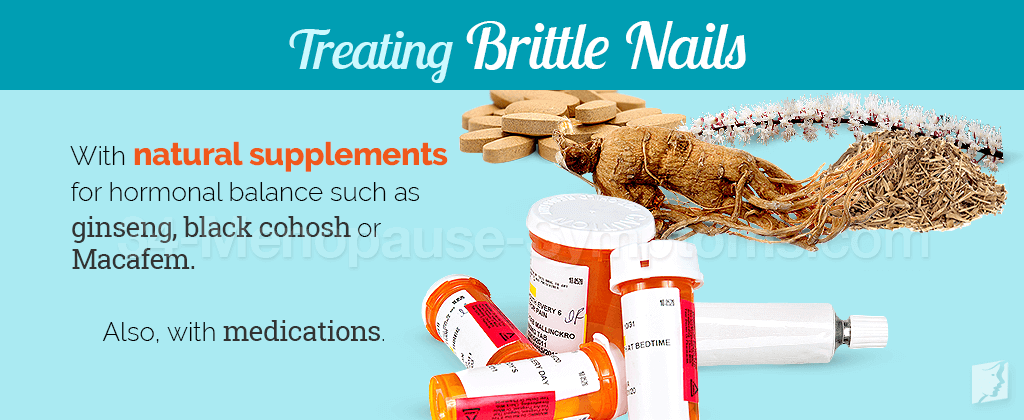 Treating brittle nails