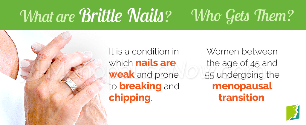 What are brittle nails?