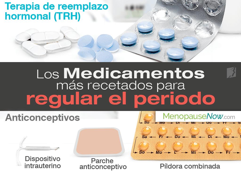 Medicamentos para regular el periodo: los más recetados