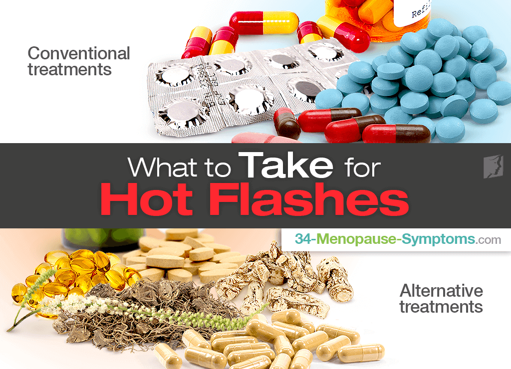 what to take for hot flashes