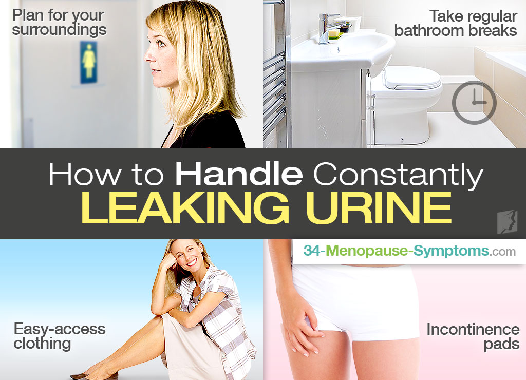 How to Handle Constantly Leaking Urine