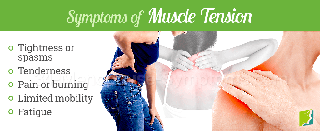 Symptoms of muscle tension