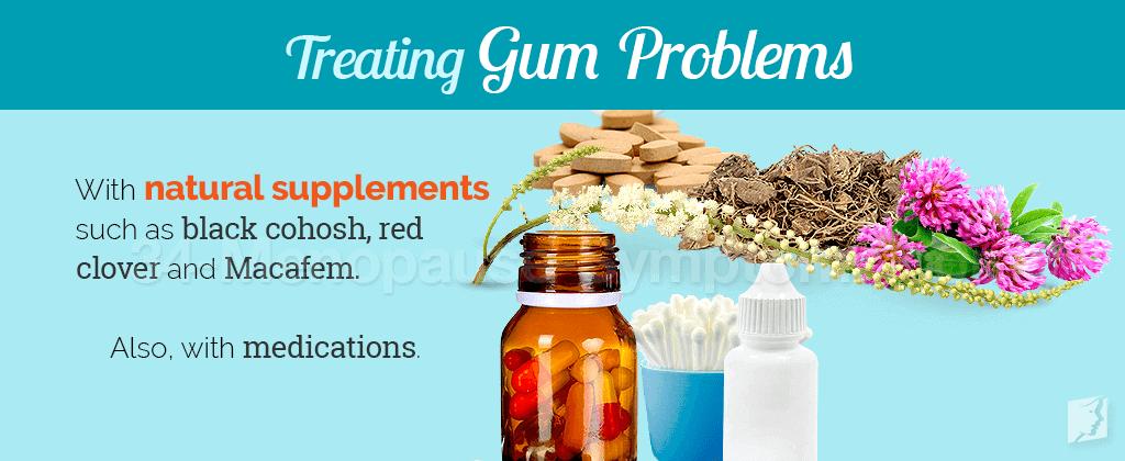 Treating gum problems