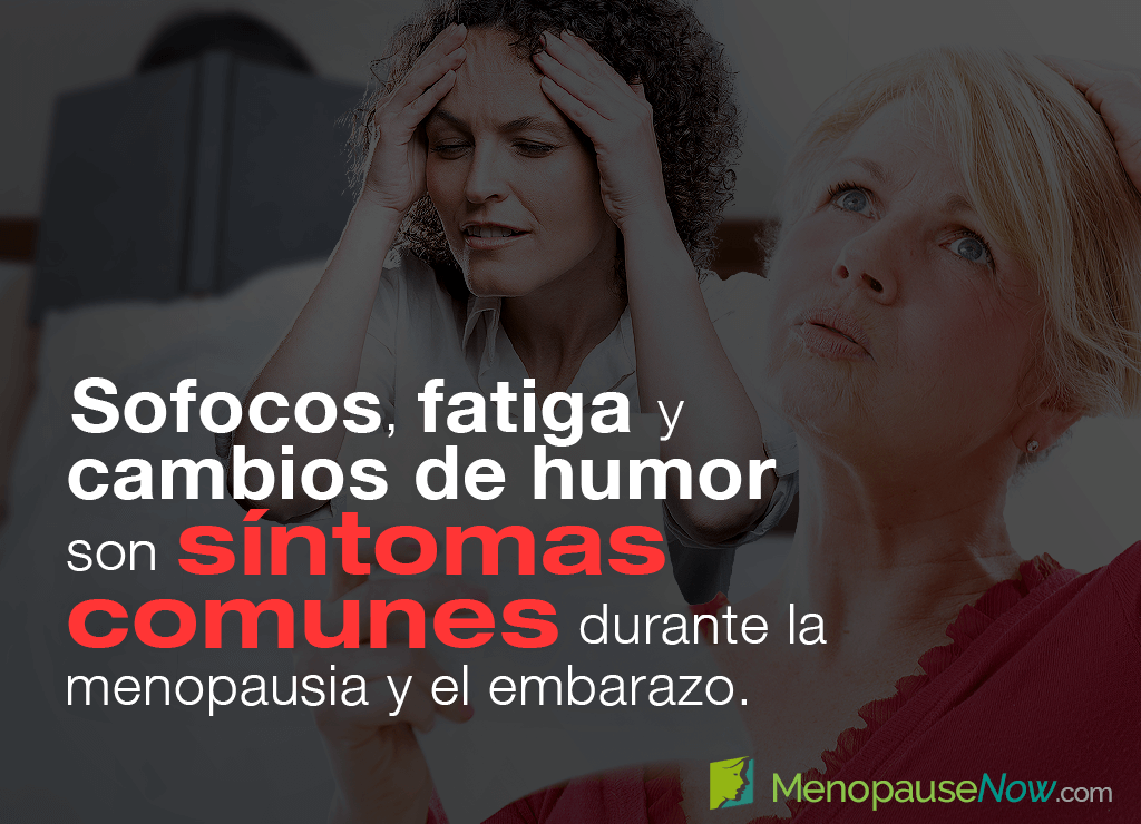 ¿Se puede confundir la menopausia con un embarazo?