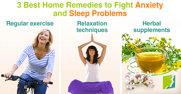 3 Best Home Remedies to Fight Anxiety and Sleep Problems