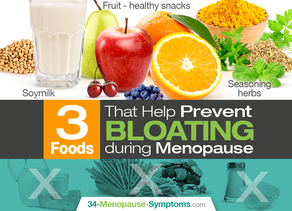 3 Foods That Help Prevent Bloating during Menopause