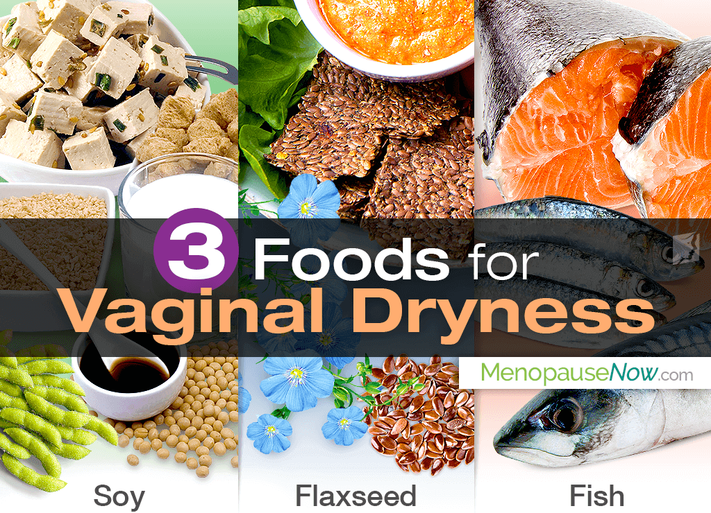 3 foods to combat vaginal dryness