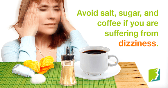 foods to avoid if you are suffering from dizziness,
