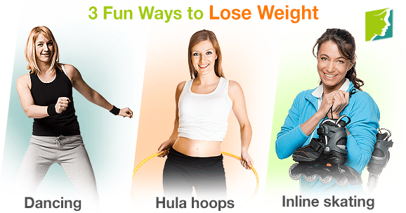 3 Fun Ways to Lose Weight