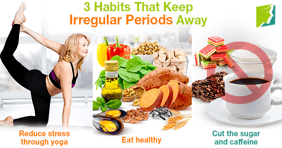3 Habits That Keep Irregular Periods Away