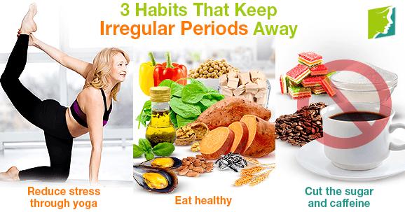 3 Habits That Keep Irregular Periods Away