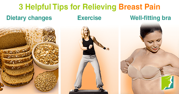 3 Helpful Tips for Relieving Breast Pain