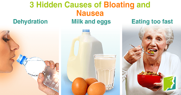 3 Hidden Causes of Bloating and Nausea