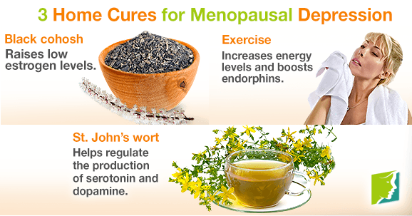 3 Home Cures for Menopausal Depression