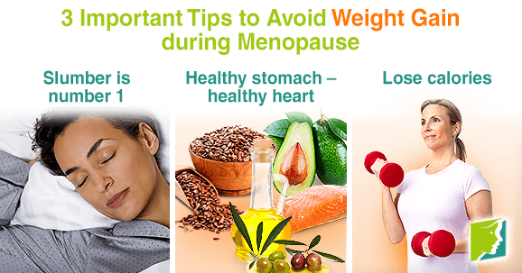 3 Important Tips to Avoid Weight Gain during Menopause